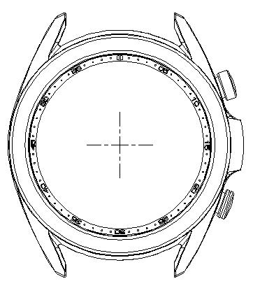 42mm直径不锈钢材质智能手表